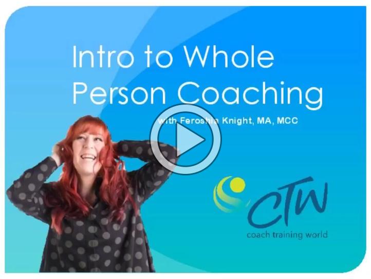 free coach training webinar