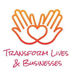 transform lives and businesses icon